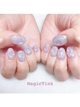 ネイルサロン マジックティンク(Magic Tink)/透明感のポコポコネイル♪