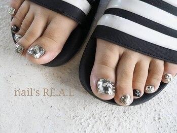 ネイルズリアル(nail's REAL)/デザイン自由やり放題FOOT