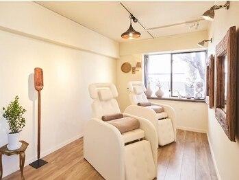 ブルーアイズトーキョー(BLUE EYES TOKYO)の写真/《表参道》安心して施術を受けて頂くために一部屋に一人のみの施術を徹底◎目元のお悩みを聞かせて下さい。