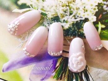 ネイルアンドアイラッシュ ボネール 銀座店(lash Bounail)/ブライダル 桜