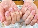 春 桜カラー ピンク色で綺麗な手