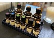 水素浴サロン プレミアム銀座の雰囲気(9種類のアロマオイルの中からお好きな香りをお選び頂けます♪)