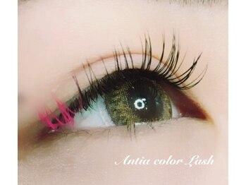 アンティア 長野駅前本店(Antia EyelashClub)/ポイントcolorLash +540円