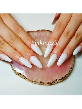 ピンクマジック(PINKMAGIC)/真っ白のワンカラースカルプ