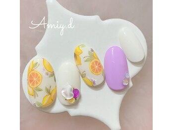 アミーディ ネイル(Amiy.d Nail)/【定額】9800円☆フルーツ