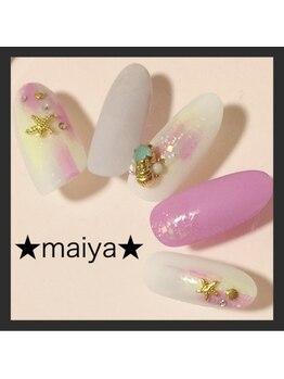 マイヤ 大泉ゆめりあ店(maiya)/紫陽花カラースクラッチ