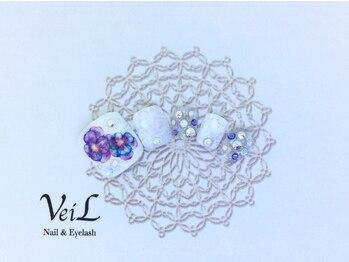 ネイル アンド アイラッシュサロン ヴェール 池袋東口店(VeiL)/フットデザインコース¥8500