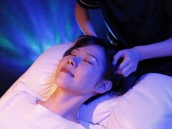 シーバイアリエスの写真/極上睡眠★《ドライヘッドスパ専門店》60分¥5600!水・オイル不使用!頭皮をじっくり絶妙な圧でほぐします♪