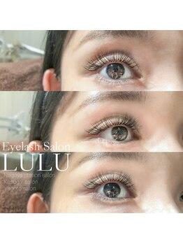 アイラッシュサロン ルル(Eyelash Salon LULU)/ボリュームハーフデザイン