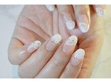 ネイルサロンブラン(nail salon BLANC)/ブライダルネイル 10,800円