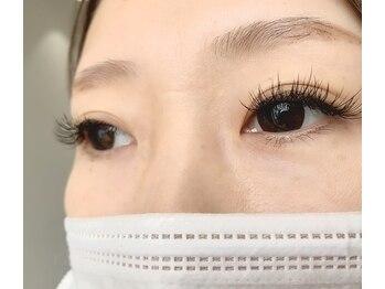 パールアイラッシュ(Pearl eye lash)/Cカール 真ん中13 目尻12