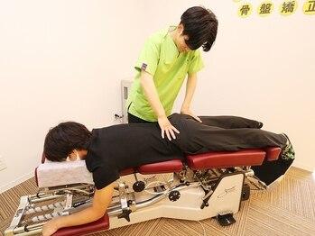 リーフ整体院 川崎有馬院の写真/腰痛の原因を根本改善!伝統的な手技と最新機器両方を駆使し、お客様一人一人に合った施術をご提供☆