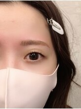 ダフネ(DAFNE)/[薄眉]眉wax+まつ毛パーマ