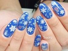 シュクル(Sucre)/雪の結晶☆ブルー