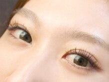 アイラッシュ サロン ジェニック(eyelash salon GENIC)の雰囲気(ブラウンエクステで自然にボリュームUP♪)