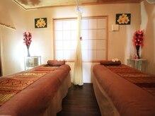 タイ古式マッサージ ラックタイの雰囲気(《内観》タイ風のインテリア。)
