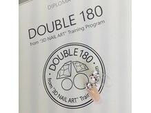 話題のDOUBLE 180ができるお店です!ご予約時にお申し付け下さい