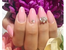 ベルネイル(belle nail)/TIARA96 スワロ盛りネイル