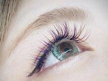 フラワーズネイルアンドアイラッシュ(FLOWER'S nail&Eyelash)/カラーエクステ♪
