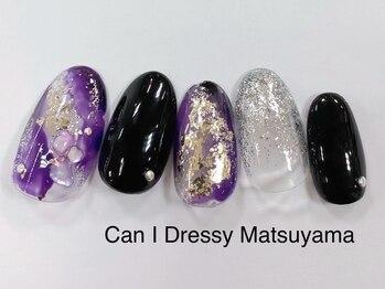 キャンアイドレッシー 松山大街道店(Can I Dressy)/和風ネイル 4,980円