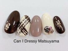 キャンアイドレッシー 松山大街道店(Can I Dressy)/リアルチョコネイル 5,500円