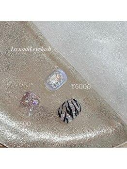 ファーストネイルアンドアイラッシュ 札幌駅前店(1stNAIL&eyelash)/■フット定額デザイン6000円■