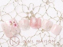 スプリングピンクラメ桜♪¥7000