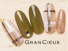 グランシュクアトロ 千葉店(GranCieux × QUATRO)/ピンクラメ×チェック×カーキ