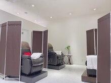 アイラッシュサロン ブラン トツカーナモール店(Eyelash Salon Blanc)の雰囲気(パーテーション設置☆半個室)