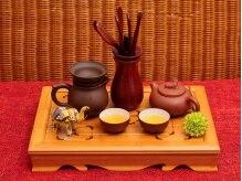 ≪中国茶のサービス付き≫施術後にホッと一息…♪