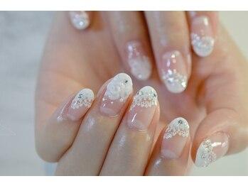 ネイルサロンブラン(nail salon BLANC)/ブライダルネイル