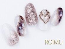 ロイム(ROIMU)/大理石ネイル