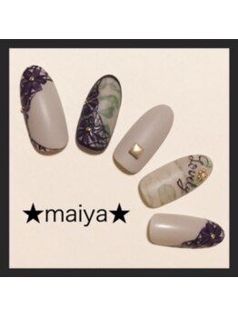 マイヤ 大泉ゆめりあ店(maiya)/☆ミリタリーフラワーレース☆