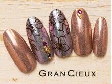 グランシュクアトロ 千葉店(GranCieux × QUATRO)/フラワー×ヴィンテージミラー