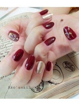 アコズネイル(Ako's nail)/ハンド定額カジュアルコース