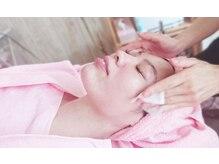 小顔矯正アンドフェイシャルサロン アンベリール(embellir)/■クレンジング