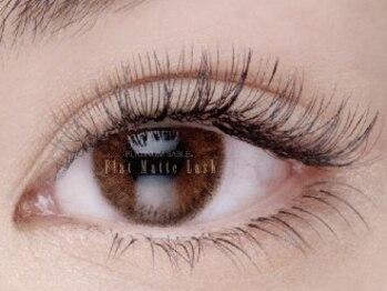 アイラッシュサロン アンシャンテ(Eyelash Salon Enchante)の写真/仕上がり、モチに自信◎【フラット/セーブル/ボリューム/バインドロック】付け放題メニューを豊富にご用意!