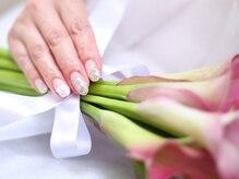 ネイルサロンブラン(nail salon BLANC)/ブライダルなニュアンスネイル