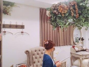 リジュベネーション専門サロン 桜梅桃李 神戸三宮店/お手入れ後にゆっくり