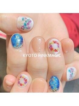 ピンクマジック(PINKMAGIC)/押し花ネイル
