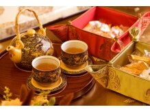 烏蘭の雰囲気(施術の前後には中国茶をサービス。施術後の効果アップも♪)