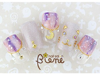 ネイルサロン ビーネ(nail salon Biene)/ ハロウィン2017¥12980-2