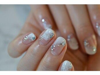 ネイルサロンブラン(nail salon BLANC)/サムシングブルーのブライダル