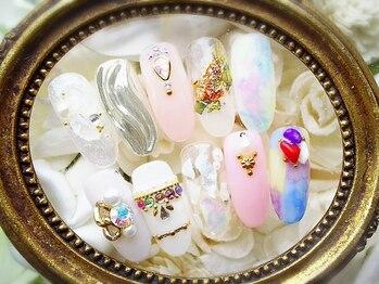 private salon mimi nail 代官山店_デザイン_08