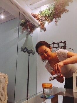 リジュベネーション専門サロン 桜梅桃李 神戸三宮店/リジュウォーターは