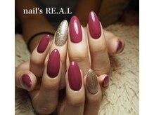 ネイルズリアル(nail's REAL)/美フォルムワンカラー