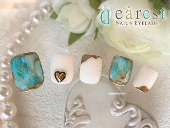 ネイルアンドアイラッシュ ディアレスト(nail&eyelash Dearest)/新規限定 フットアートコース