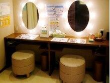 米坂サロン ド エステティック 栄本店の雰囲気(パウダールームも完備でメイク直しもばっちり!)