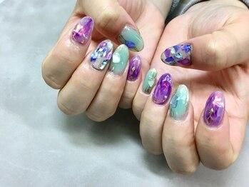 キャンネイル 金山店(Can Nail)/クリア☆シェル