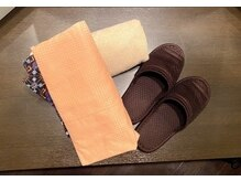 施術時の着替え、タオル類の交換及びクリーニングの徹底